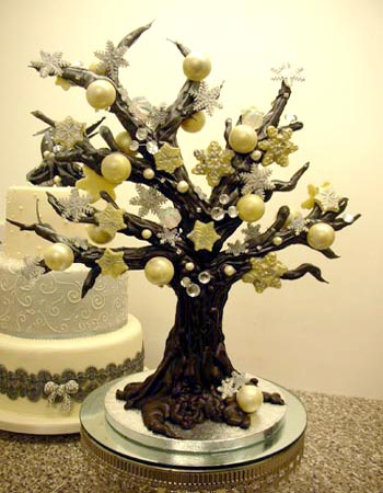 Stunning chocolate centrepieces